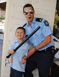 police themed party for kids perth