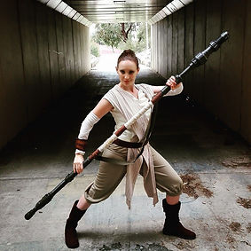 rey star wars party perth