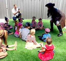 Pirate kids entertainer Perth