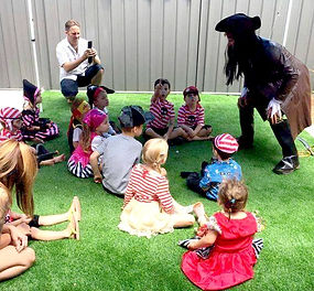 Pirate kids entertainer Perth