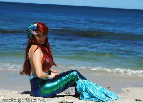 little mermaid kids party perth