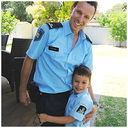 police themed kids parties perth