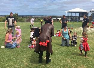 pirate kids party theme perth