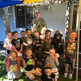 kids army party perth