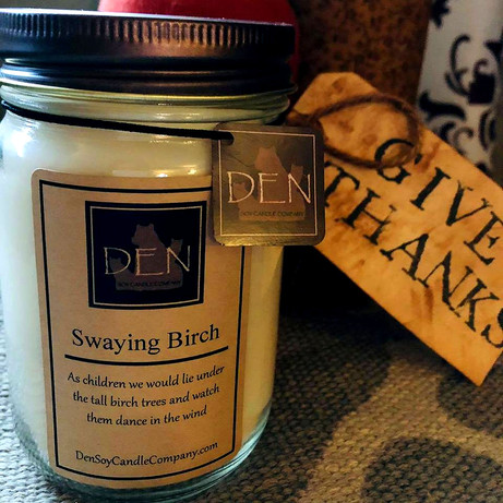 Swaying Birch Candle