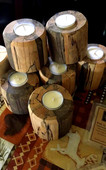 Homemade Candle Holders, DEN Soy Candle Company