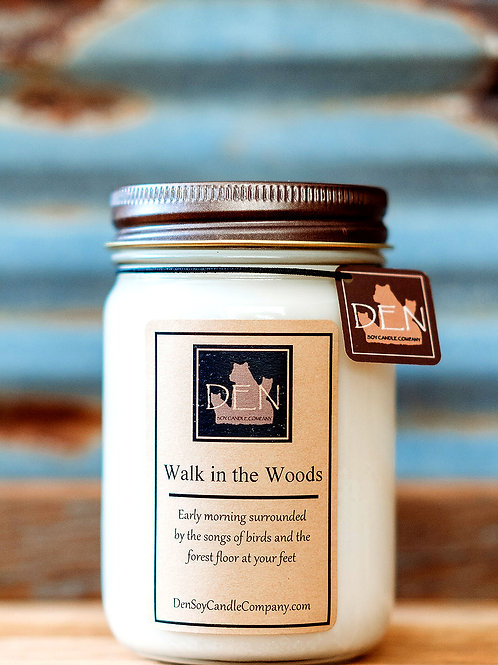 Walk in the Woods, DEN Soy Candle Company