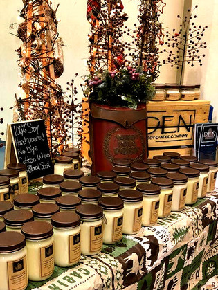 Den Soy Candle Company Winter Market