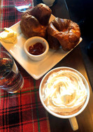 Hot buttered croisants