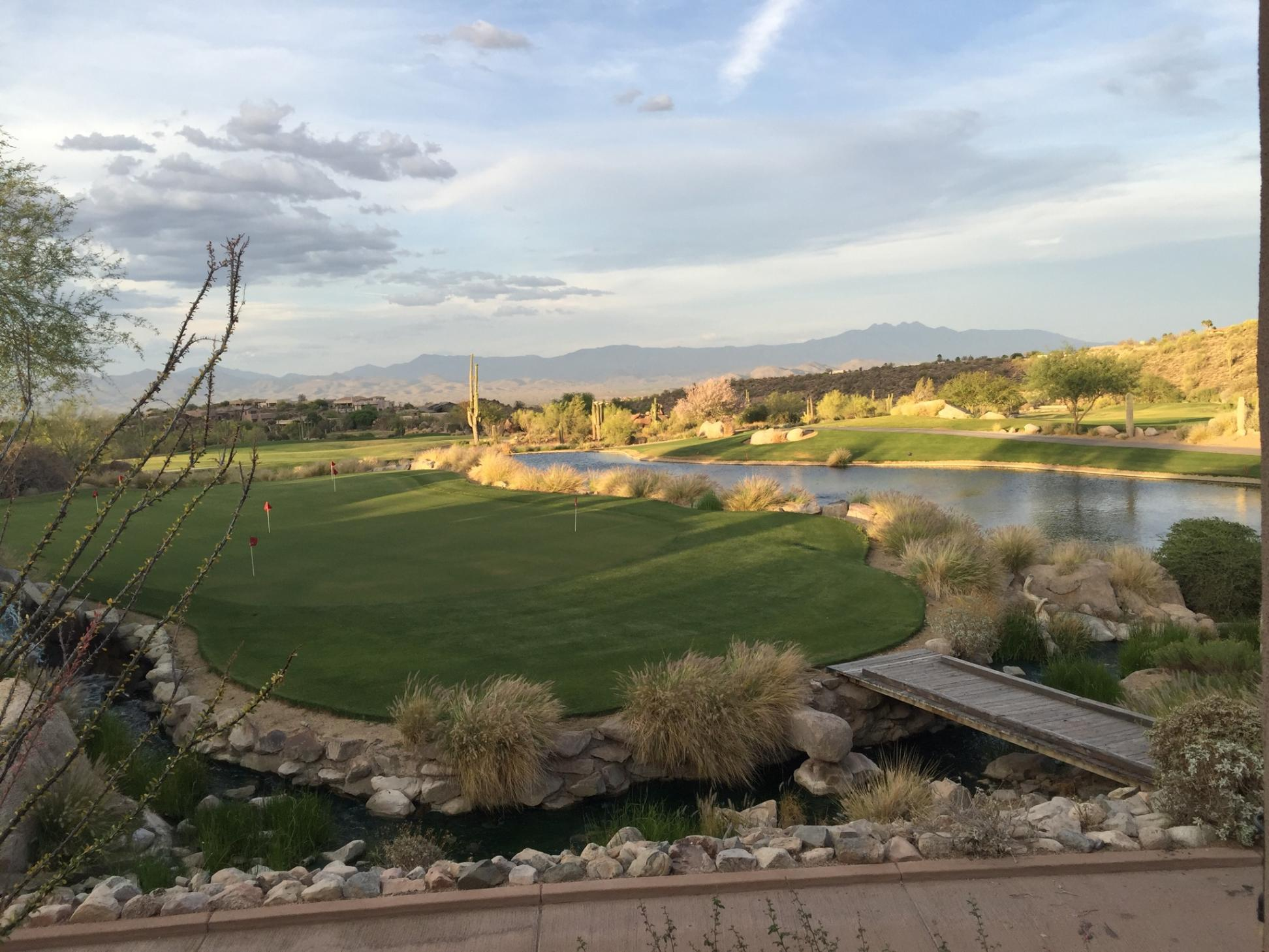 Sun Ridge Canyon  Golf Club, Fountain Hills, Tough to beat this view, Kevin Walsh