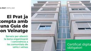 El Servei de Bon Veïnatge i Convivència del Prat publica una guia de recursos per a comunitats