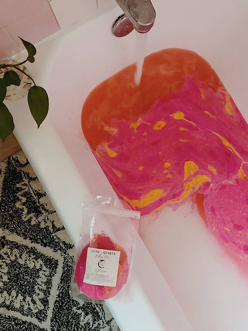 Night Queen Bath Bomb in a a Bag-  Longevity+ Good fortune + Purification