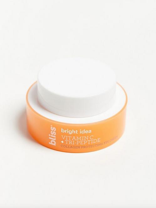 Bright Idea Eye Cream-Vitamin C + Tri-Peptide Collagen Protecting Eye Cream