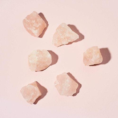 Natural Rose Quartz Chunk- Love, Compassion, Romance, Love Spell