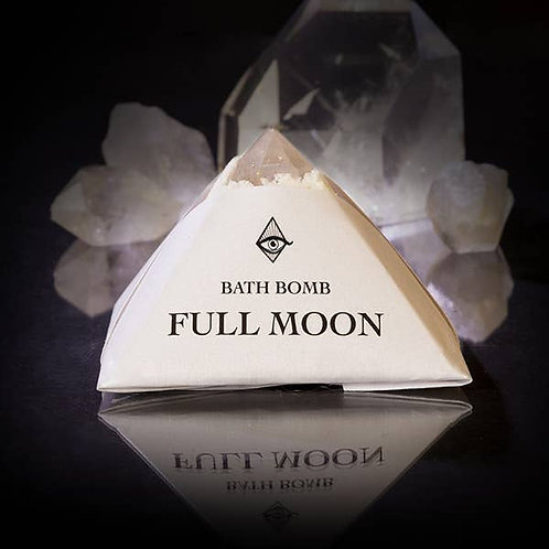 Full Moon 4oz Bath Bomb (4oz ) Full Manifestations,  Illuminate Your Goals
