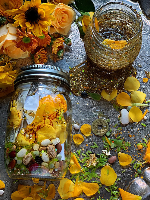 New Years Honey Jar Service- Sweeten The New Year With Abundant Blessings