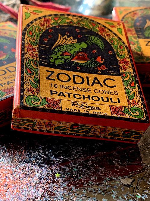 Pisces Zodiac Incense Cones