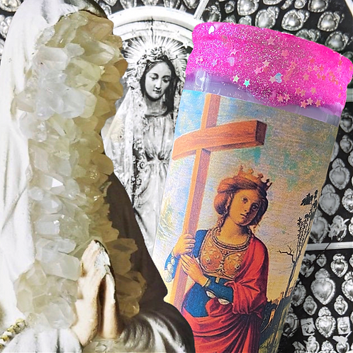 St. Helena 7-Day Candle- For Bring Back A Strayed Lover/Husband, & or Love