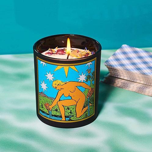 Star Tarot Candle - Hope, Faith, Purpose, Renewal & Spirituality