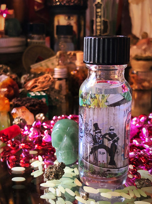 New Orleans Luck Oil-  Used to Bring Quick Lasting Luck in Money and Love, hoodoo, 7day candle, spell