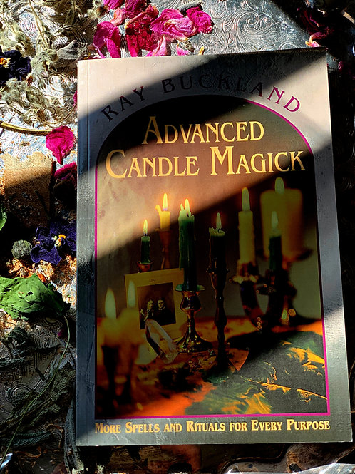 Advanced Candle Magick Book + FREE GIFT