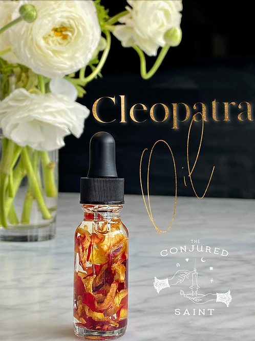 Cleopatra Oil- Sex, Power, Wealth, Arousal, Confidence, Glamour