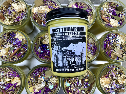 Most Triumphant Candle | Crown Of Success -SUCCESS | | TRIUMPH | ACHIEVEMENT