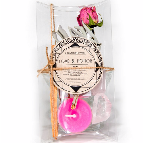 Love & Honor Ritual Kit - Mini- Invoking Enchanting Vibrations of Love