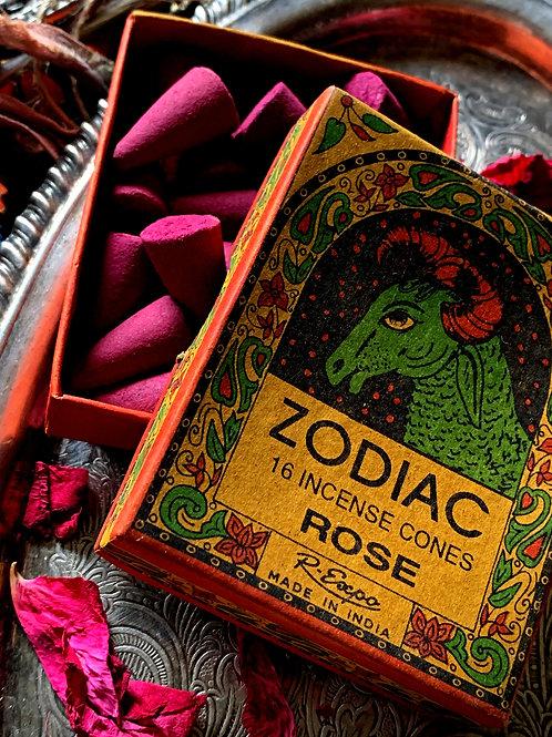 Aries Zodiac Incense Cones