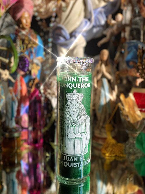 High John Devotional Candle- Luck, Success, Power, Prosperity