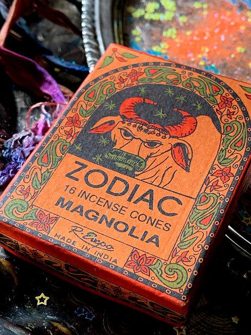Taurus Zodiac Incense Cones