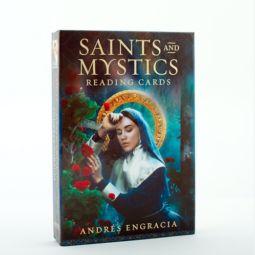 Saints and Mystics Reading Cards + Book & FREE CRYSTAL