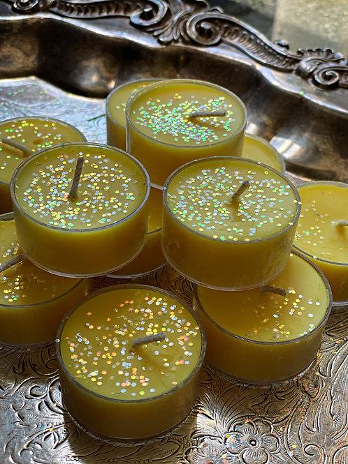 Sweet Honey Bee - Ritual Tea Light - Fertility, Community, Prosperity, Sweetness