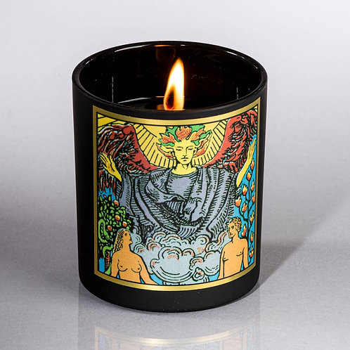 Lovers Tarot Candle- Love Affairs. Physical Attraction, Passion, Harmony