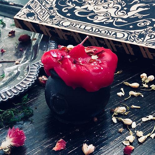 Love + Light Cauldron Candle - Love, Peace, Loving Experiences, Romance