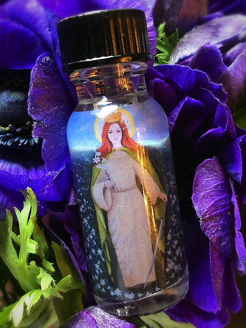 St. Dymphna Oil- Relieve depression, Post Traumatic Stress, Anger, Resentment