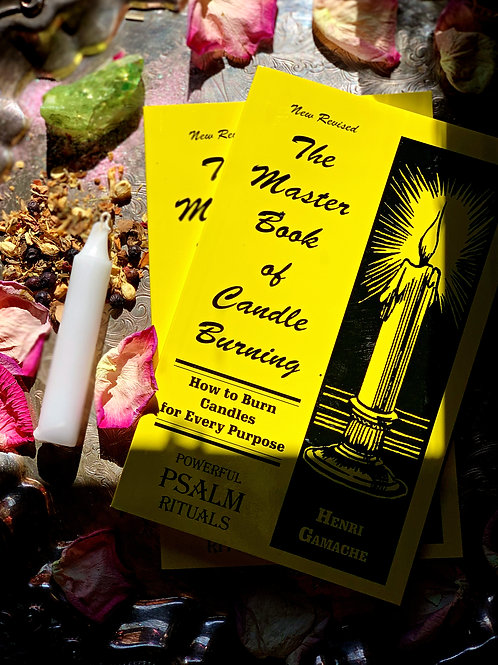 The Master Book of Candle Burning + FREE GIFT