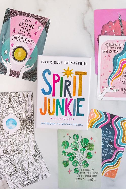 Spirit Junkie Oracle Deck-+ FREE GIFT