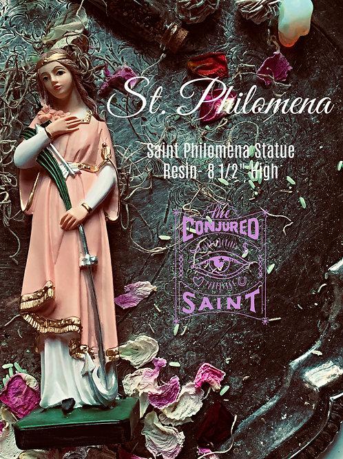 "Saint Philomena Statue & Altar Set Up- ""Wonderworker"" Money, Home, Love, Issues"
