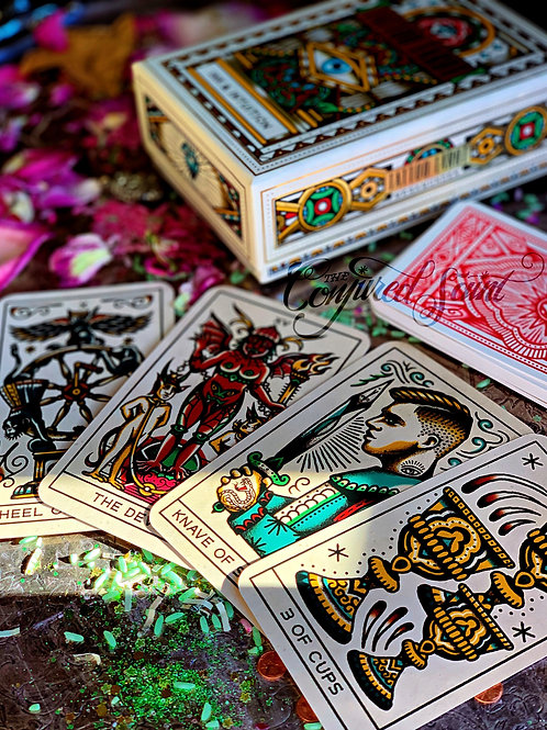 Tattoo Tarot: Ink & Intuition By Diana McMahon-Collins