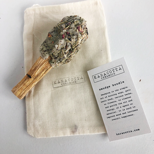 Smudge Pop - Air-Purifying, Spiritual Clearing, Aura Cleaning & Shielding