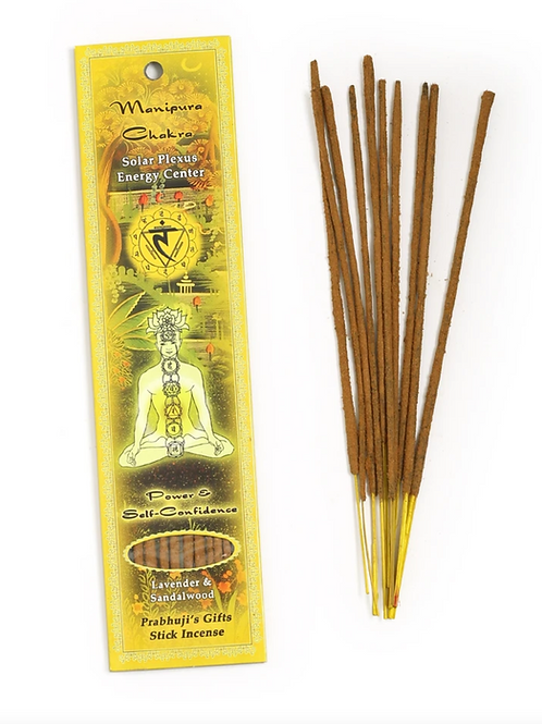Solar Plexus Incense Sticks- Balancing Your Personal Power, Willpower