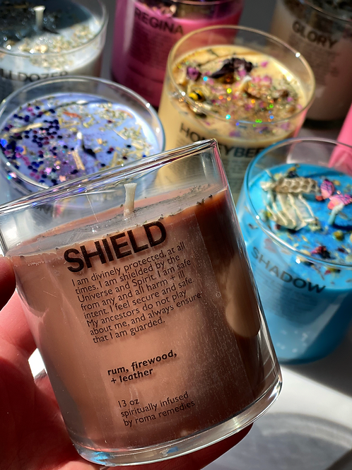 Shield Ritual Candle- Protecting You from ill intent, Harm, and Negative Energy.