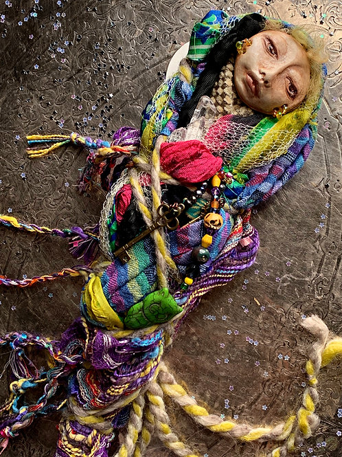 Spirit Doll- Talisman & Mystical Amulet For Magical Intent, Ritual Doll