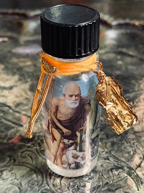 Saint Lazarus Oil Spell Set- Healing, Health, Miracles, Money, Protection, Hoodoo, Voodoo, Wiccan, Pagan, Santeria, Brujeria