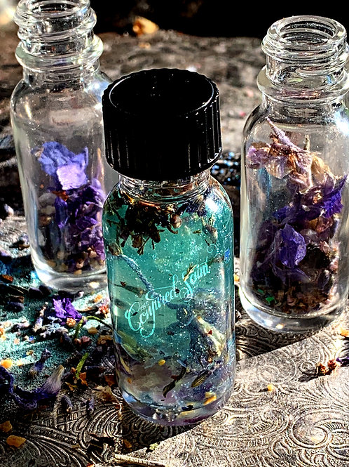Sleeping Beauty Oil- Free Your Mind, From Stress and Racing Thoughts, Deep Sleep