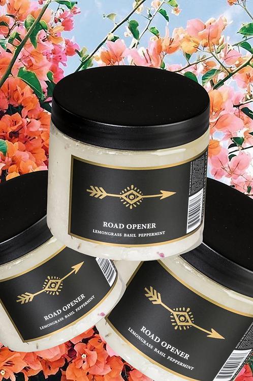 Road Opener 20oz Body Scrub- Opener to Clear Your Pathway to a Bright Future