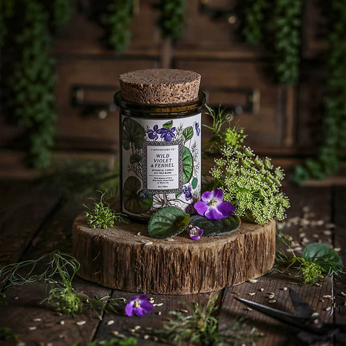 Botanical  | Wild Violet + Fennel | Candle