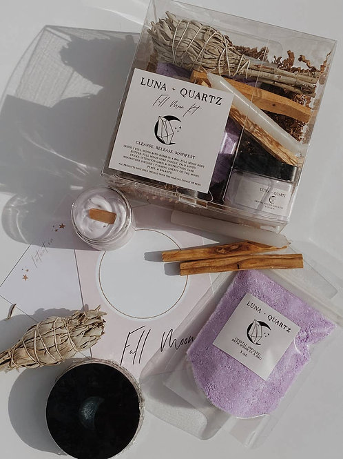Full Moon Kit-  Setting Intentions and Manifestations During the Full Moon