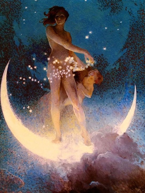 New Moon Service February 4th- Good Luck, Good News Generosity and Happiness.